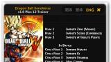 Dragon Ball: Xenoverse Трейнер +12