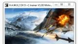 Tom Clancy's H.A.W.X2 Трейнер +1