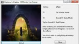 Middle-earth: Shadow of Mordor Трейнер +2