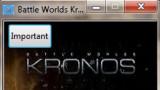 Battle Worlds: Kronos Трейнер +1