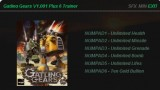 Gatling Gears Трейнер +6
