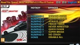 Need For Speed: Most Wanted (2012) Трейнер +8