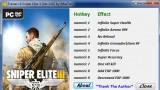 Sniper Elite3 Трейнер +9