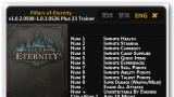 Pillars of Eternity Трейнер +22