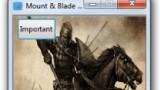 Mount & Blade: Warband Трейнер +8