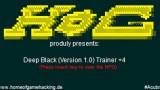 Deep Black Трейнер +4