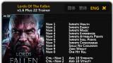 Lords of the Fallen Трейнер +22