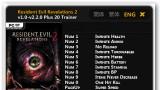 Resident Evil: Revelations2 Трейнер +20