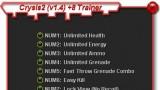 Crysis2 Трейнер +8