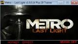 Metro: Last Light Трейнер +20