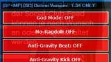 Grand Theft Auto V Чит-мод - External Mod Menu v1.0.0 1.35