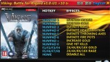 Viking: Battle for Asgard Трейнер +10