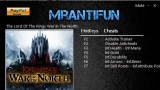 Lord of the Rings: War in the North Трейнер +5