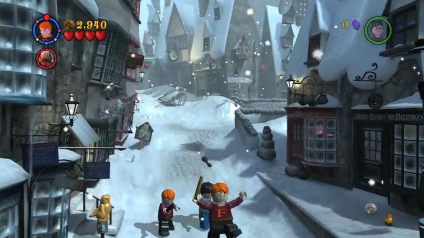 LEGO Harry Potter: Years 1-4 - Hogsmeade Trailer