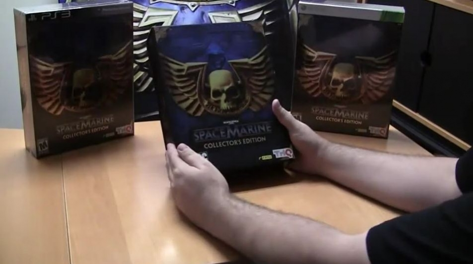 Warhammer 40 000: Space Marine - Collector's Edition Unboxing Trailer