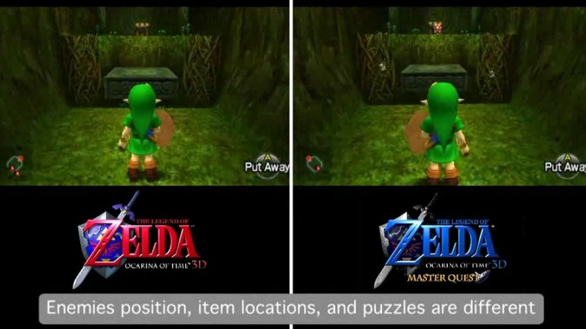 The Legend of Zelda: Ocarina of Time – 3D Master Quest Trailer