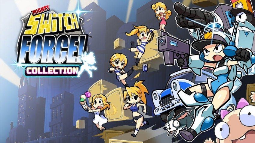 Mighty Switch Force! Collection. Трейлер