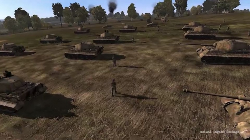Iron Front: Liberation 1944 - Tanks Trailer