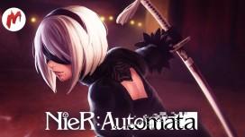 NieR: Automata - Demo. Стрим «Игромании»