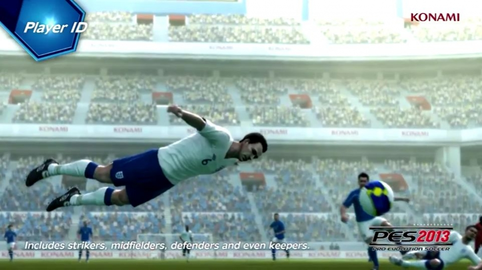 Pro Evolution Soccer 2013 - PlayerID ProActive AI Gameplay