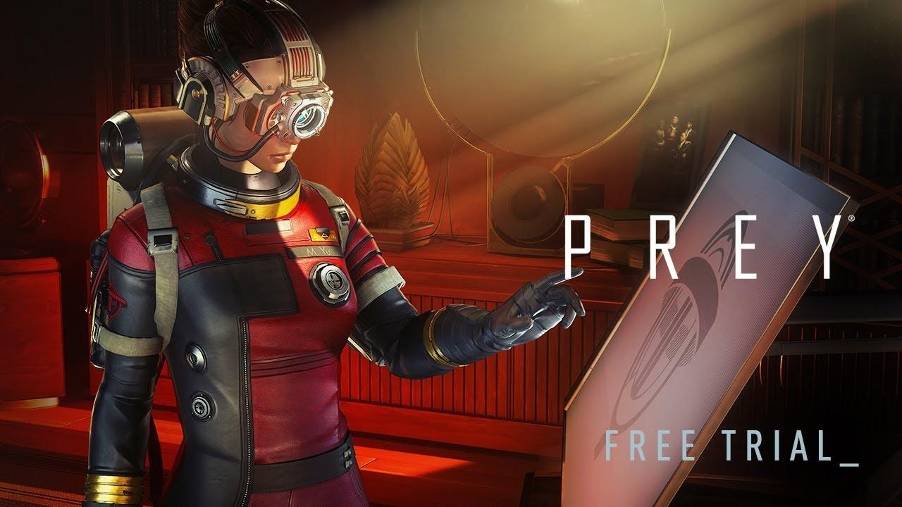 Prey (2017). Трейлер пробной версии