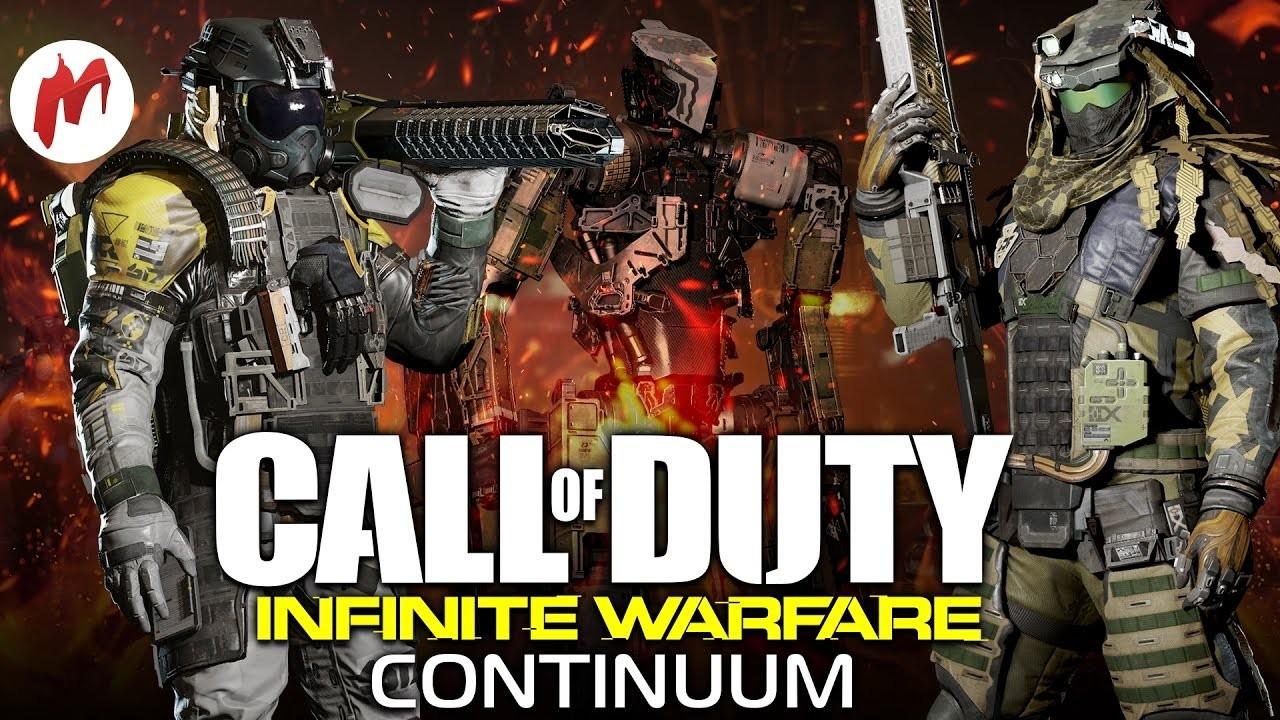 Запись стрима Call of Duty: Infinite Warfare - Continuum