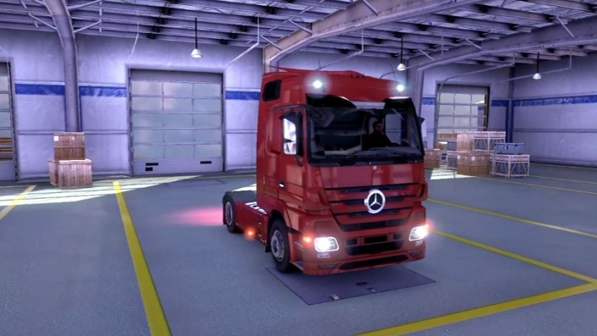 Euro Truck Simulator 2 - Trucks Trailer