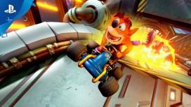 Crash Team Racing Nitro-Fueled. Трейлер к выходу игры