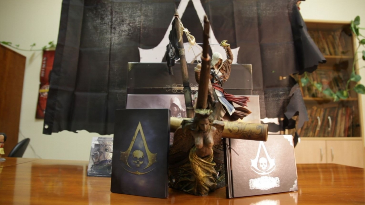 Assassin's Creed 4: Black Chest Edition - Unboxing