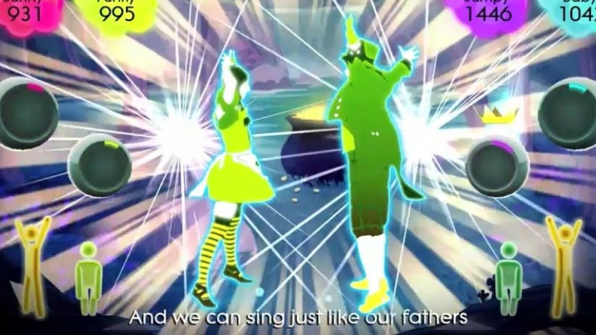 Just Dance2 - Come On Eileen Trailer