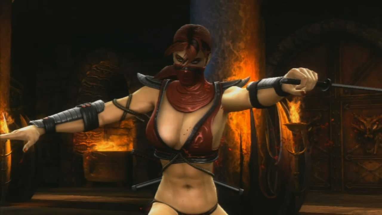 Mortal Kombat (2011) - Skarlet Trailer