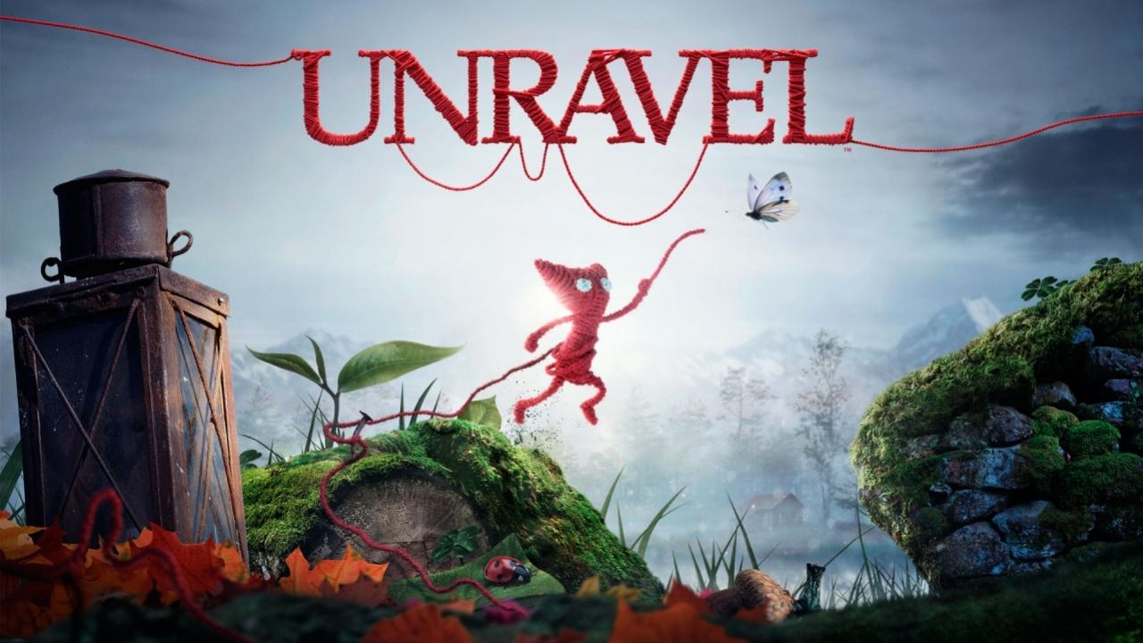 Первый взгляд на Unravel - Стрим «Игромании»