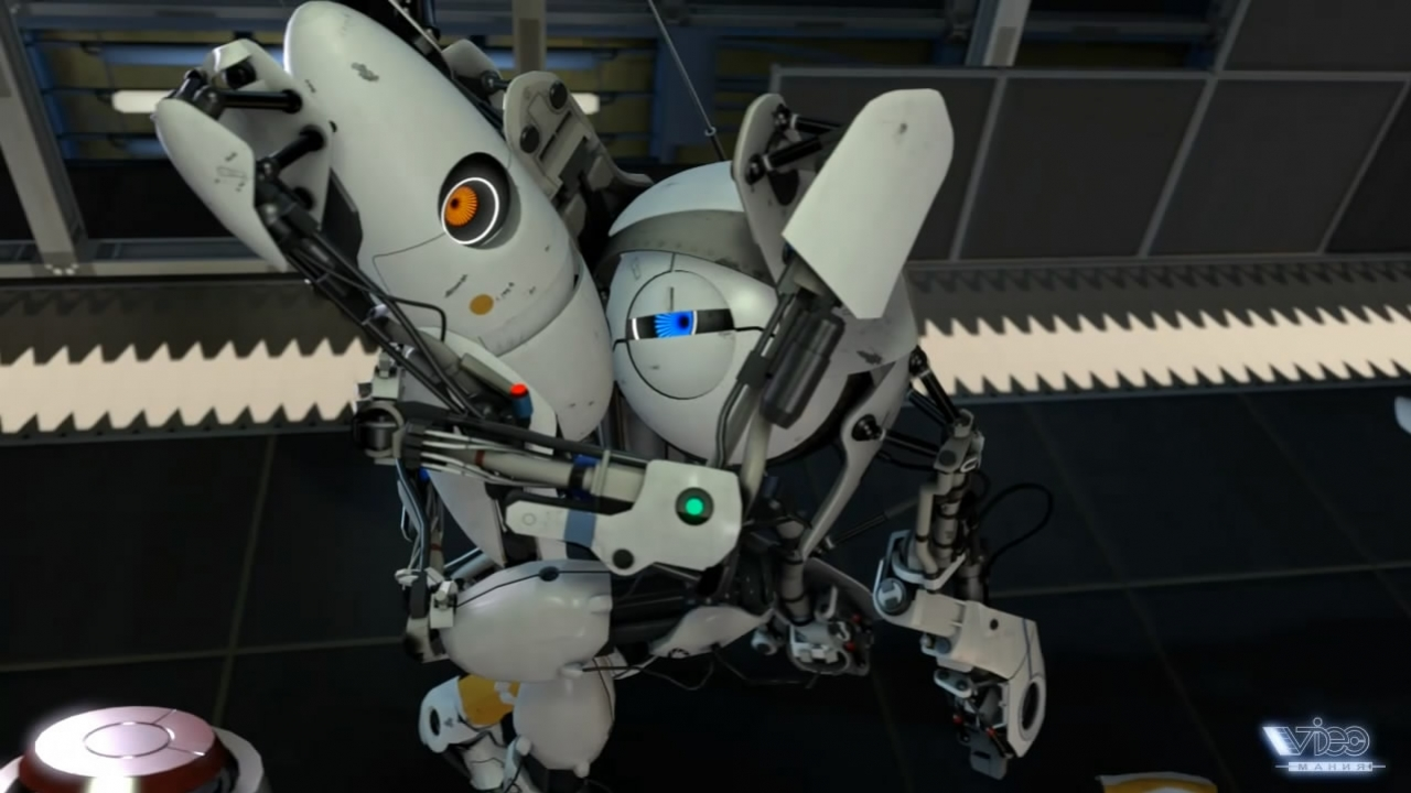 Portal2 - Co-Op Trailer (русская версия)
