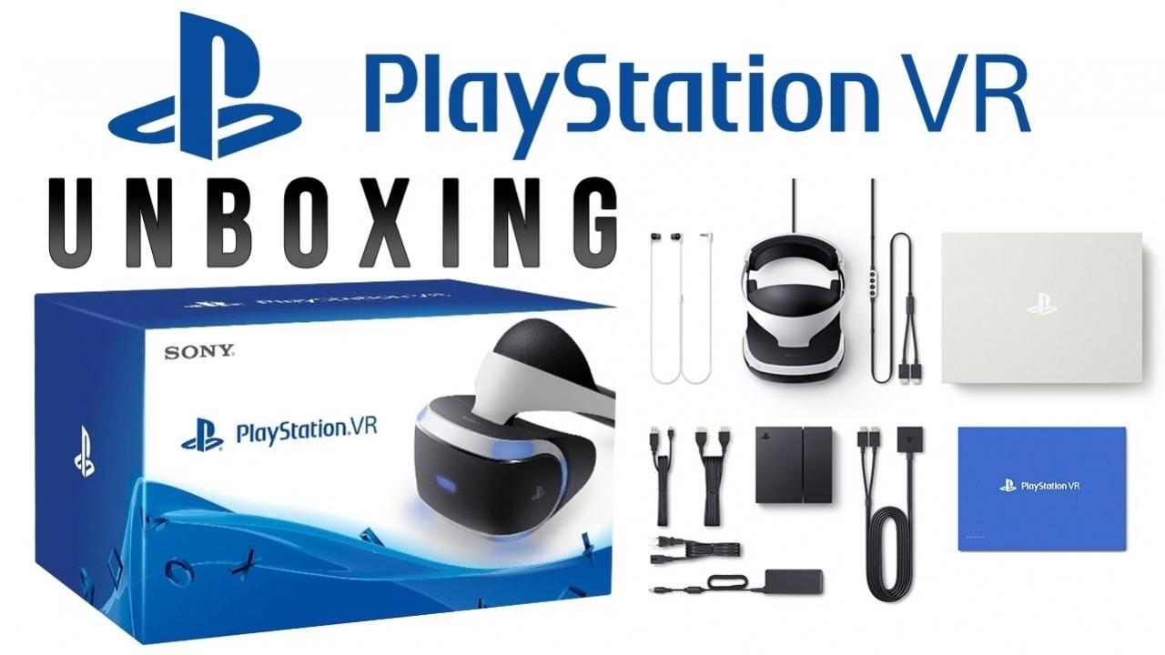 Распаковка - PlayStation VR