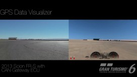 Gran Turismo 6 - GPS Visualizer
