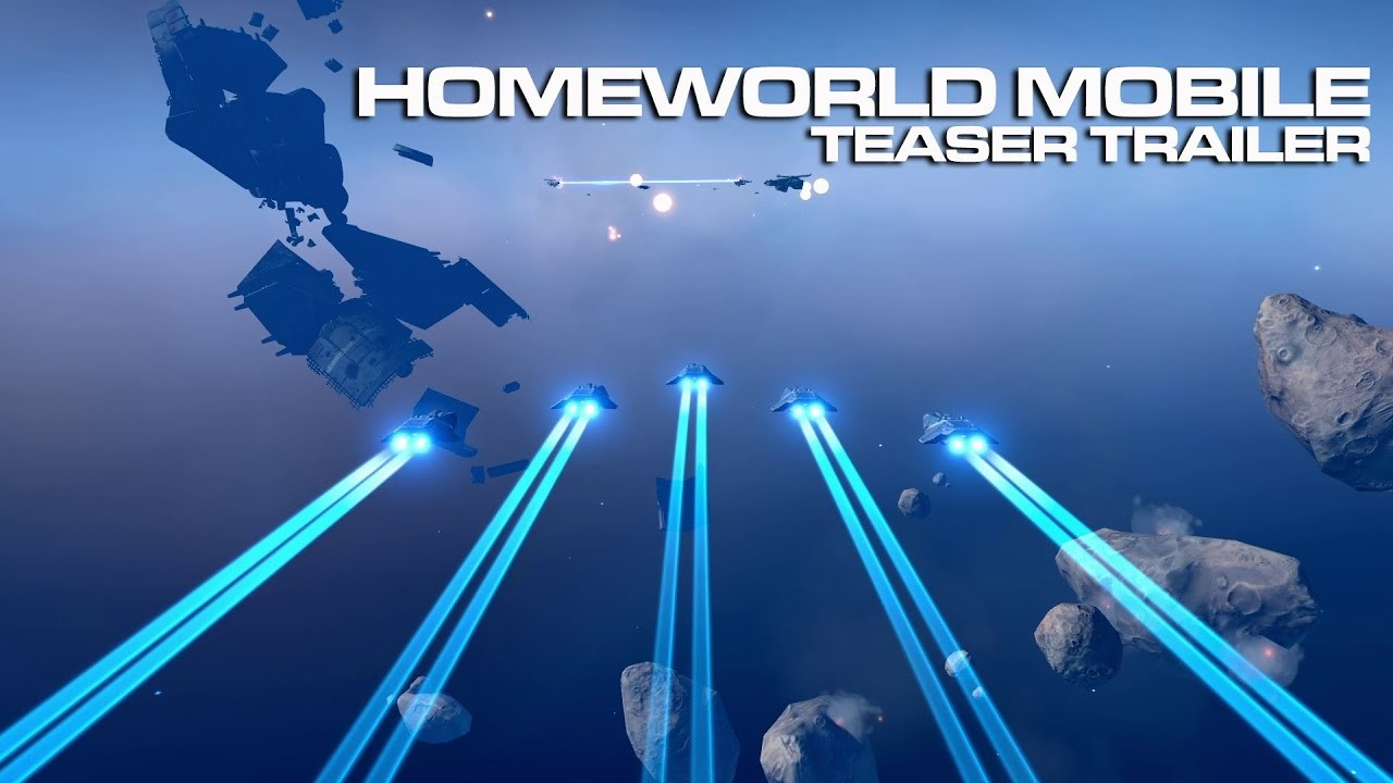 Homeworld Mobile. Трейлер