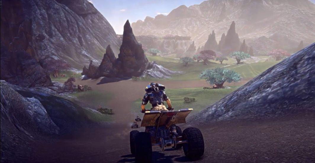 PlanetSide2 - Amerish Trailer