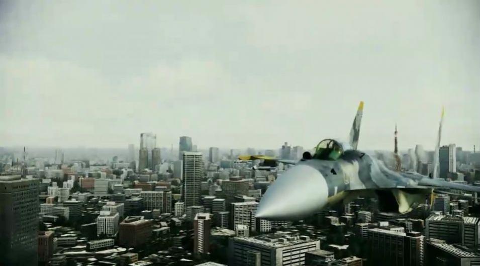 Ace Combat: Assault Horizon - Tokyo Visit Trailer