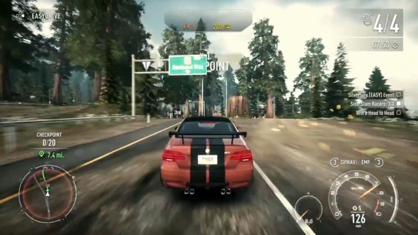 Need for Speed: Rivals - PS4 Геймплей