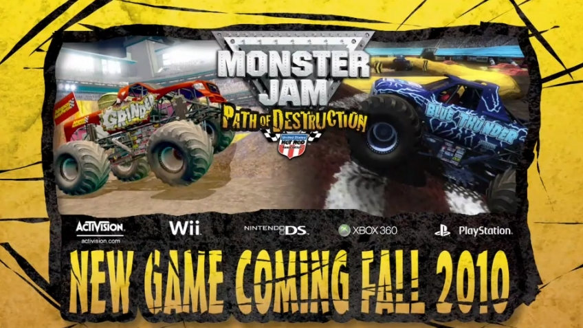 Monster Jam: Path of Destruction - Tom Meents Voiceover Video