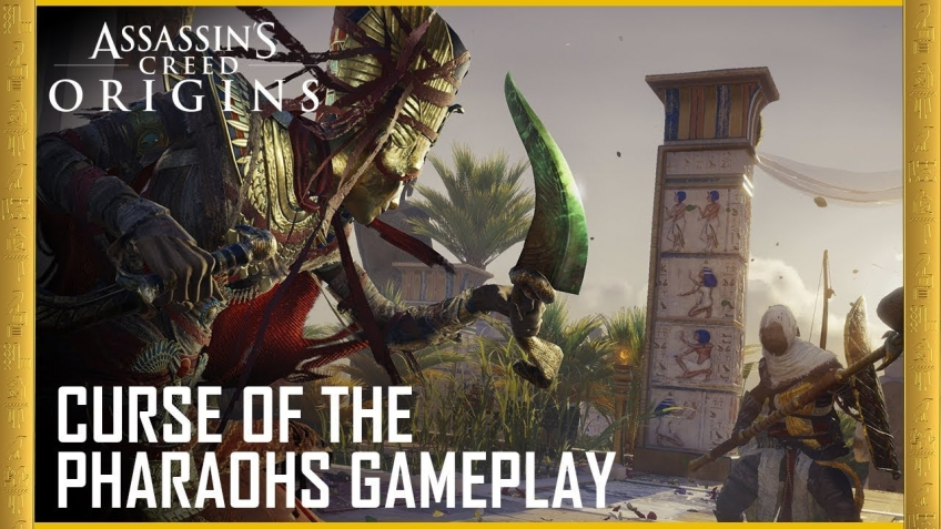 Assassin's Creed Origins. Трейлер «Проклятие фараонов»