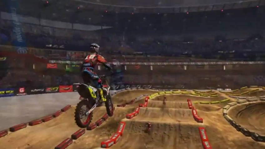 MX vs. ATV Supercross - Trailer