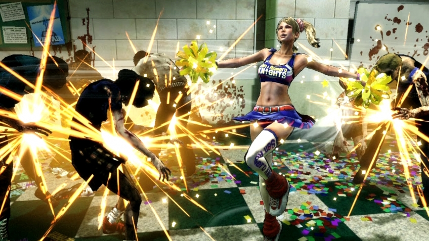 Lollipop Chainsaw - Злой викинг