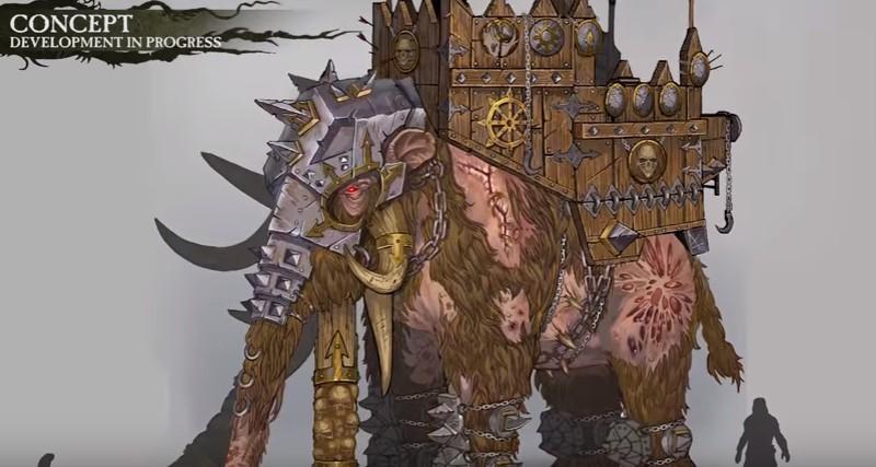 Total War: Warhammer. Трейлер про монстров из Norsca