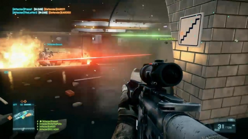 Battlefield 3 - E3 2011 Operation Metro Multiplayer Gameplay Trailer