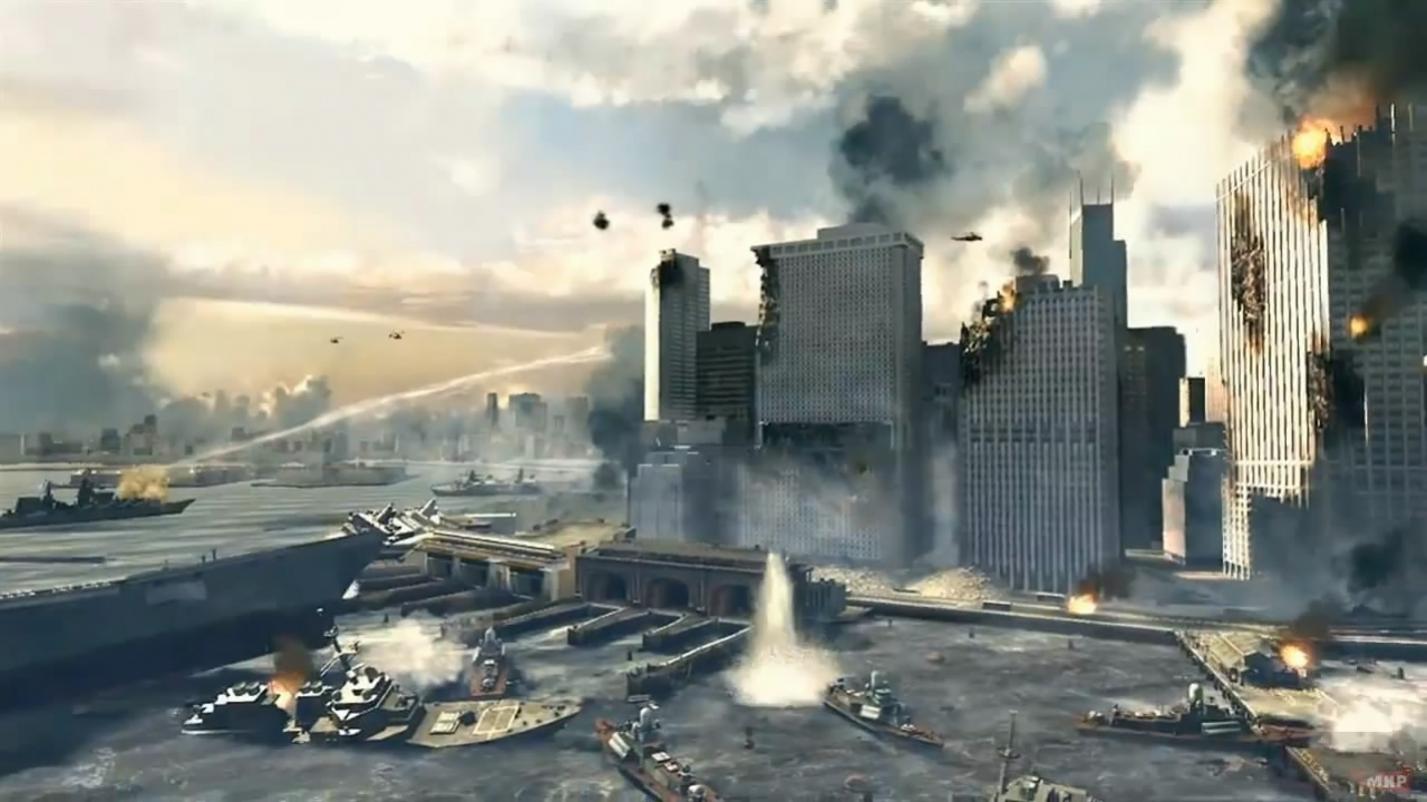 Call of Duty: Modern Warfare3 - Launch Trailer (с русскими субтитрами)