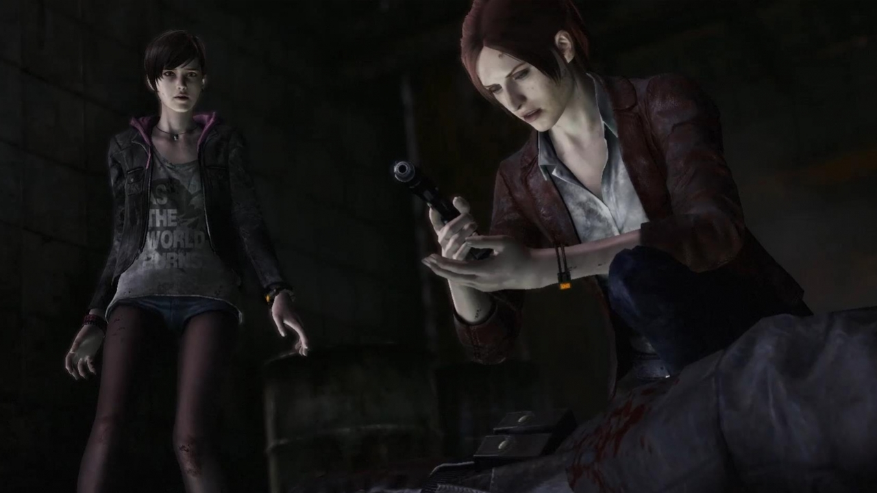 Resident Evil: Revelations 2 - Episode 1: Penal Colony — Начало игры