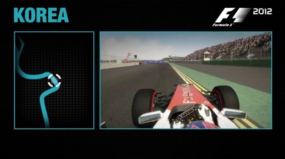 F1 2012 - Korea Hotlap Trailer