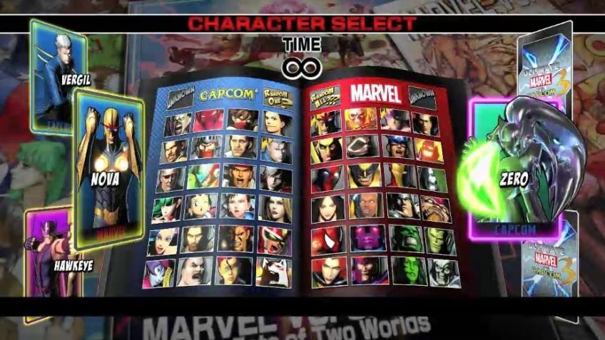 Ultimate Marvel vs. Capcom 3 - Heroes and Heralds Mode Trailer