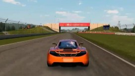 Auto Club Revolution - McLaren MP4-12C on Silverstone Trailer